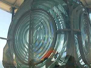 The lens in the lighthouse